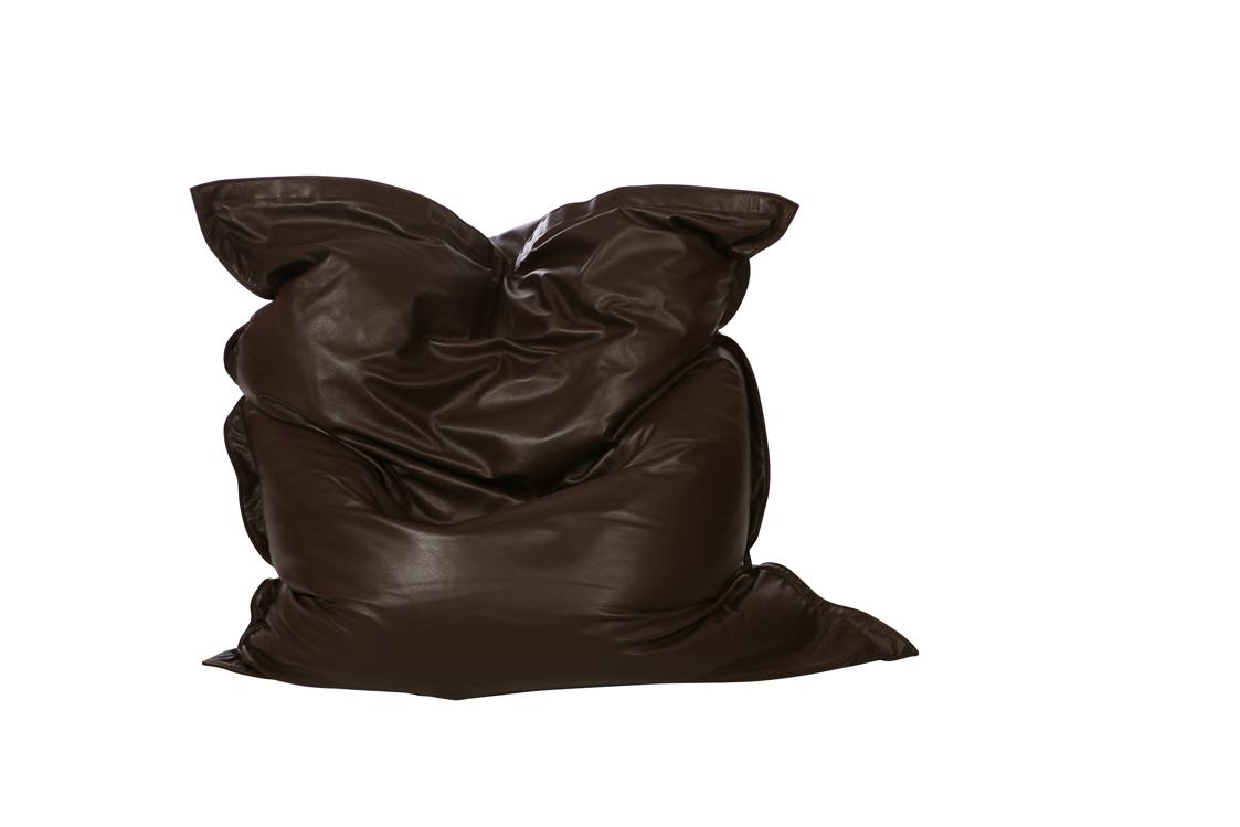 sitzsack aus leder von qsack ist wie ein sofa qsack sitzsack wohndesign. Black Bedroom Furniture Sets. Home Design Ideas