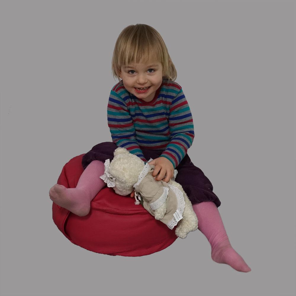 Kinder Sitzkissen Leder