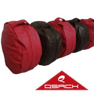 Leder Sitzkissen QSack