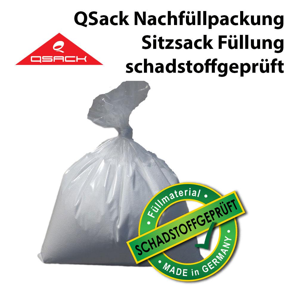 QSack Sitzsack Nachfüllpack schadstoffgeprüft