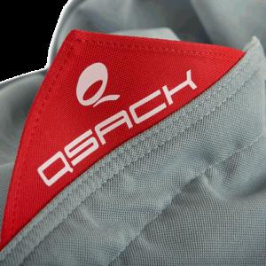 QSack Indy Sitzsack Hülle 3-fach Nähte