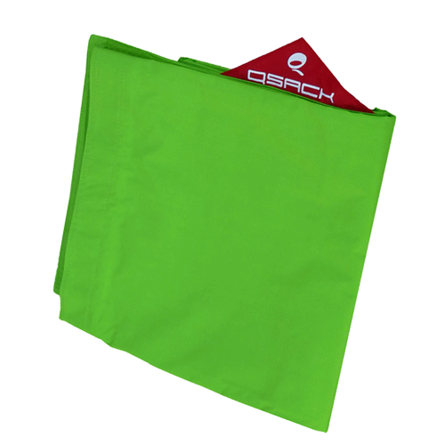 QSack Outdoorer Kindersitzsack Bezug apfelgrün