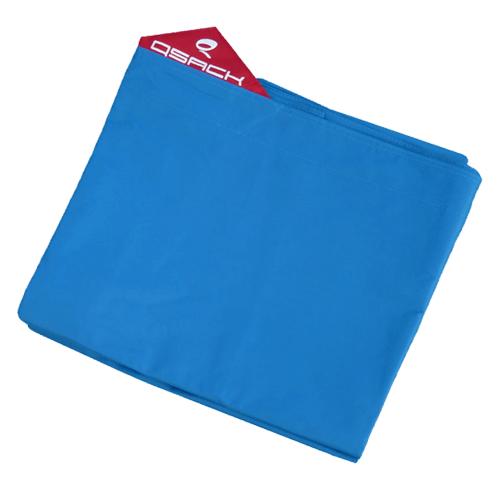 QSack Outdoorer Kindersitzsack Bezug blau