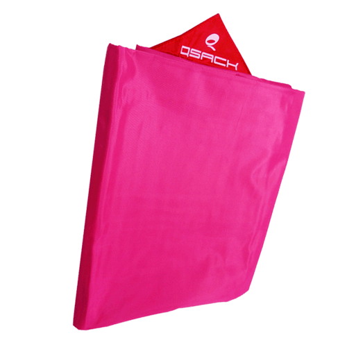 QSack Outdoorer Kindersitzsack Bezug pink